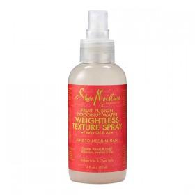 SHEA MOISTURE Spray revitalisant pour cheveux fins EAU DE COCO 118ml