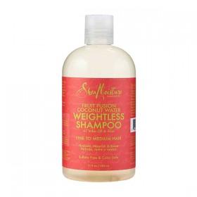 SHEA MOISTURE Shampooing pour cheveux fins EAU DE NOIX DE COCO 384ml
