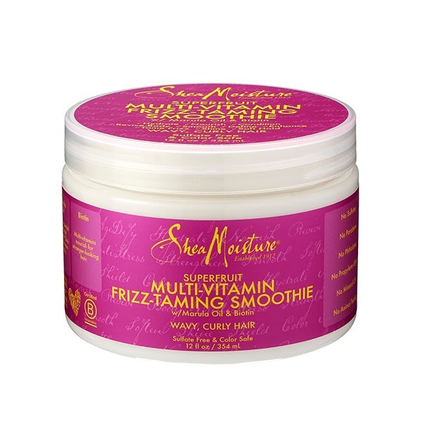SHEA MOISTURE Crème anti-frisottis SUPERFRUIT Multi-Vitamin Frizz-Taming Smoothie 354ml