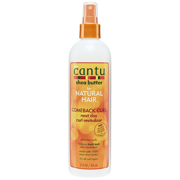CANTU SHEA BUTTER Spray revitalisant pour boucles KARITE 355ml (COMEBACK CURL)