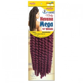 NEW BORN FREE natte NATTY HAVANA MEGA TWIST 10""