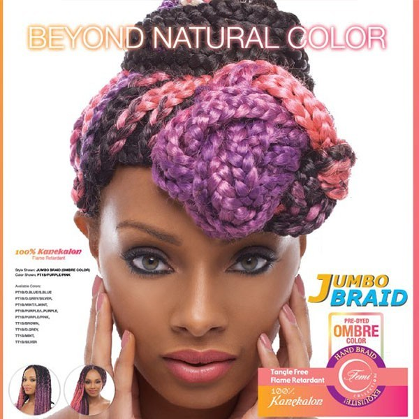 FEMI natte JUMBO BRAID