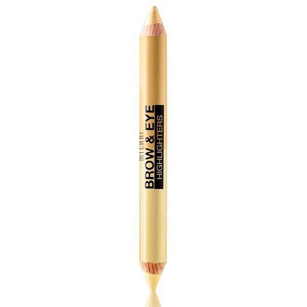 01 BEIGE MAT MILANI Crayon duo illuminateur 4.8g (Brow & Eye Highlighters)