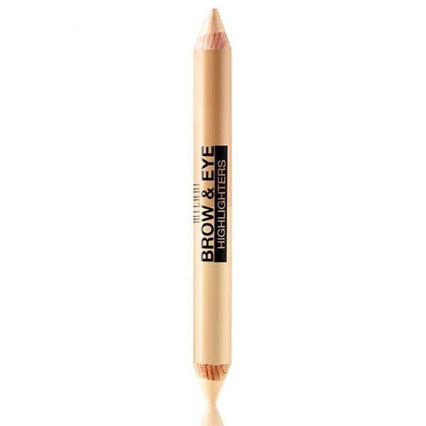 02 CREME MATTE MILANI Crayon duo illuminateur 4.8g (Brow & Eye Highlighters)