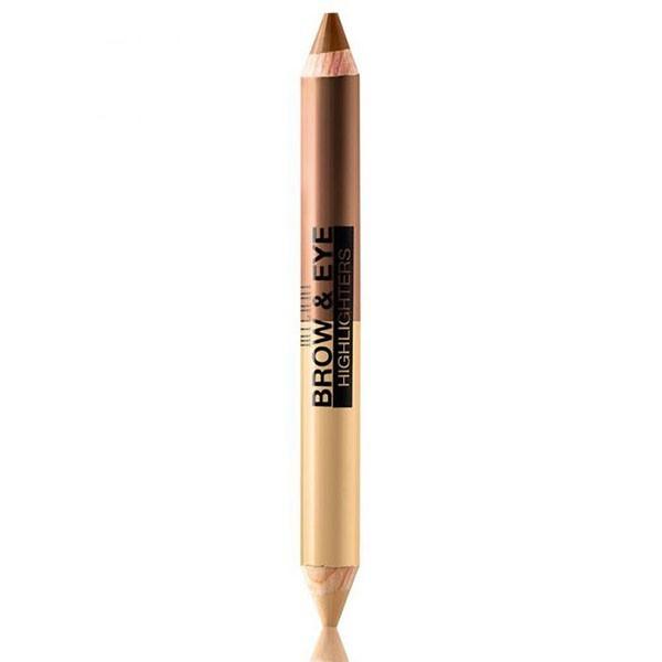 03 VANILLE TAUPE MILANI Crayon duo illuminateur 4.8g (Brow & Eye Highlighters)