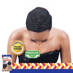 FREETRESS bonnet tressé pour tissage ou crochet braids BRAIDED UNIT CLASSIC PATTERN