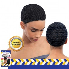 FREETRESS bonnet tressé pour tissage ou crochet BRAIDED CAP