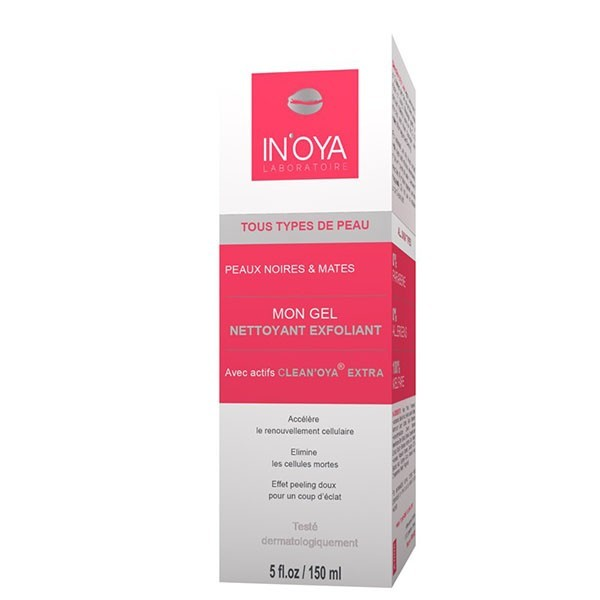 INOYA Gel nettoyant exfoliant 150ml