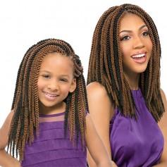 "SENSAS braid KIDS SENEGAL TWIST 12"" (Looped)"