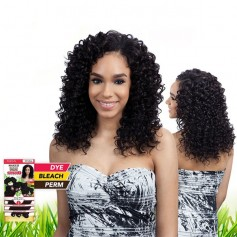 "SAGA tissage BRAZILIAN DEEP WAVE 7PCS 10""12""14"" (NAKED)"