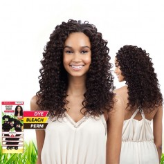 "SAGA tissage BRAZILIAN DEEP WAVE 7PCS 14""16""18"" (NAKED)"