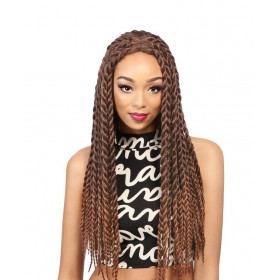 IT'S A WIG perruque nattée LACE CARIBBEAN BRAID (Lace Front)