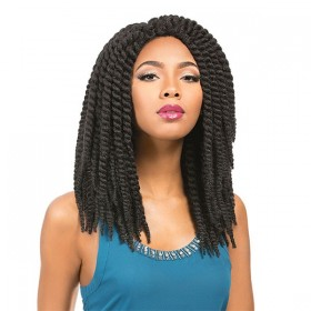 SENSAS perruque RUMBA TWIST BRAID (Crochet Wig)