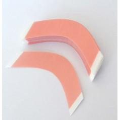 Curved adhesive strips SENSI TAK x36 (sensitive skin)