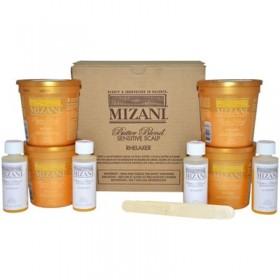MIZANI BUTTER BLEND relaxer kit sensitive scalp x 4 (Rhelaxer)