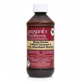 GROGANICS Shampoing inhibiteur de la DHT GORGANICS 240ml DEEP FREEZE