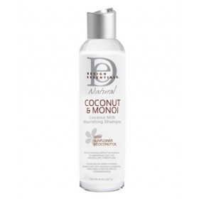 DESIGN ESSENTIALS Shampoing nourrissant COCO&MONOI 236.5ml
