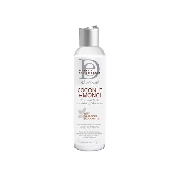 DESIGN ESSENTIALS Shampoing nourrissant COCO&MONOI 236.5ml
