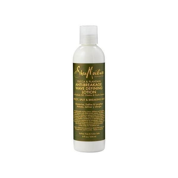 Lotion définition boucles YUCCA & PLANTAIN & BAOBAB ( wave defining lotion) 236ml SHEA MOISTURE