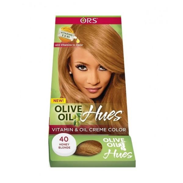 coloration permanente olive oil 40 blond miel. Black Bedroom Furniture Sets. Home Design Ideas