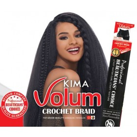 HARLEM natte KIMA VOLUME CROCHET BRAID 24""