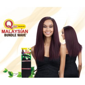 """MILKYWAY QUE weaving Malaysian IRONED TEXTURE NATURAL STRAIGHT 7pcs 14""""13""""12"""""""