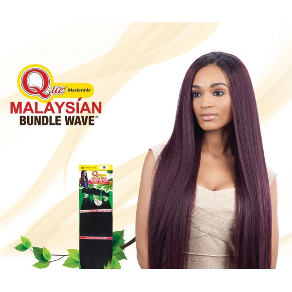 """MILKYWAY QUE tissage Malaysien IRONED TEXTURE NATURAL STRAIGHT 7pcs 26""""24""""22"""""""