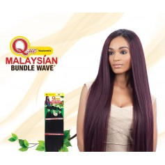 "MILKYWAY QUE tissage Malaysien IRONED TEXTURE NATURAL STRAIGHT 7pcs 26""24""22"""