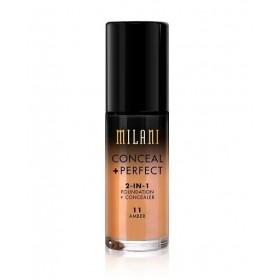 MILANI Fond de teint liquide 2en1 CONCEAL + PERFECT 30ml