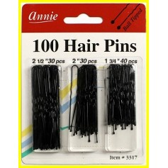 Snow pins 3 sizes x100 hair pin combo