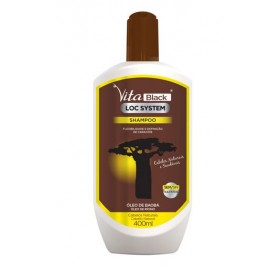 VITABLACK BAOBAB & RICIN Oil Shampoo 400ml