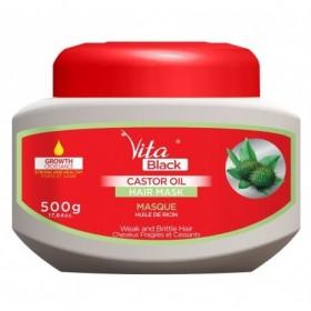 VITABLACK Masque capillaire huile de ricin 500g (Hair Masque Castor Oil)