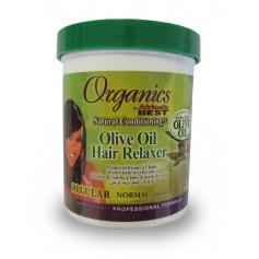 Crème défrisante huile d'olive REGULAR 213g (Hair Relaxer)