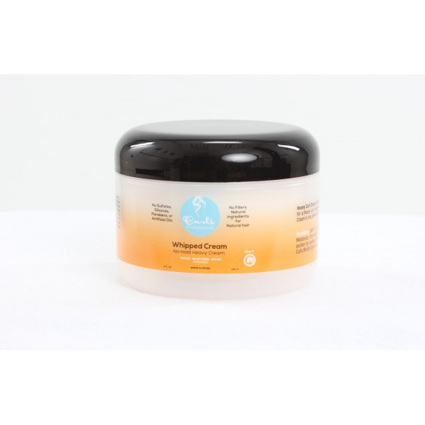 CURLS Crème style afro naturel 240ml ( Whipped Cream)