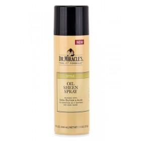 DR MIRACLE'S Brillantine en spray Karité et Aloé 444ml (Oil Sheen Spray)_