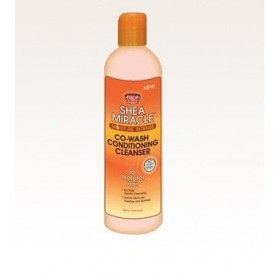 AFRICAN PRIDE Co-wash hydratation intense SHEA MIRACLE 355ml (Co-wash Conditioning Cleanser)