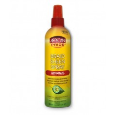 AFRICAN SPRAY Spray spécial tresse brilliance regular 355ml (Braid Sheen Spray)