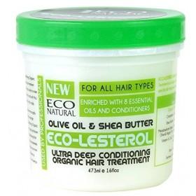 ECO STYLER Masque réparateur Olive & Karité ECO-LESTEROL 473ml
