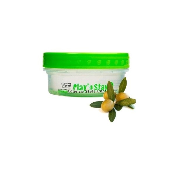 ECO STYLER Gel coiffant EDGE huile d'OLIVE 90ml (Play'N Stay)