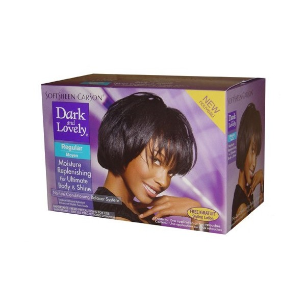DARK & LOVELY Kit défrisant sans soude