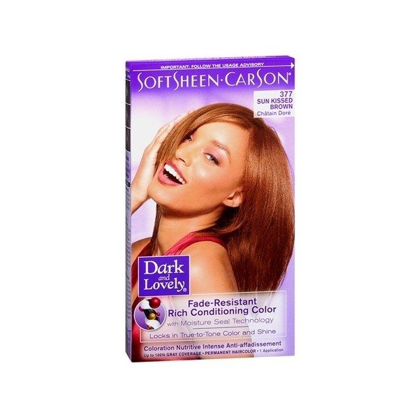 "DARK & LOVELY Coloration permanente ""nutritive intense"" 377"