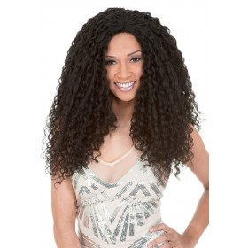 NEW BORN FREE BOHEMIAN WAVE wig (Lace Front)