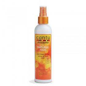 CANTU Moisturizing Spray COCO OIL 237ml (Coconut Oil Shine & Hold Mist)