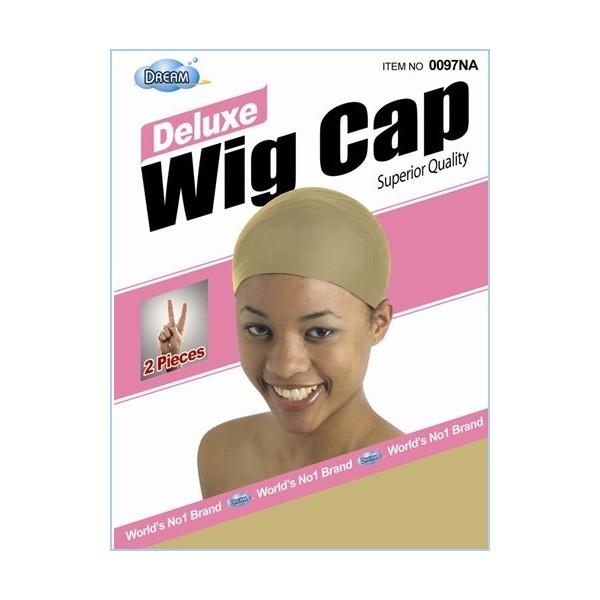 "DREAM Bonnet perruque ""deluxe wig cap"" x2 (NATUREL)"