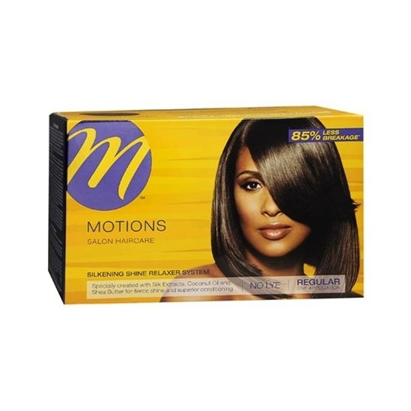 MOTIONS Silk protein relaxer kit NORMAL formula