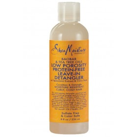 SHEA MOISTURE Soin démêlant BAOBAB & TEA TREE 236 ml (Low porosity protein free)