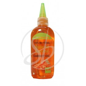 YARI Huile de CAROTTE 100% NATURELLE 110ml (Carrot oil)