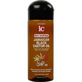FANTASIA IC Huile de Ricin Noir Jamaïcaine 100% NATURELLE (Black castor) 178ml