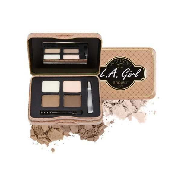 L.A GIRL Kit pour sourcils INSPIRING BROWKIT 5,5g