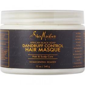 "SHEA MOISTURE Masque anti-pelliculaire African Black Soap ""Dandruff Control"""" 340g"